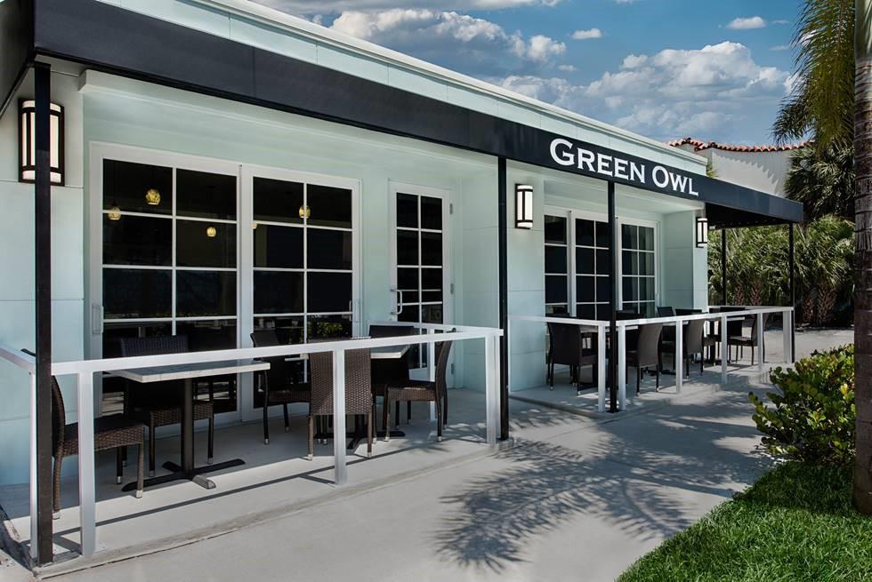 Green Owl Restaurant in Boca Raton
