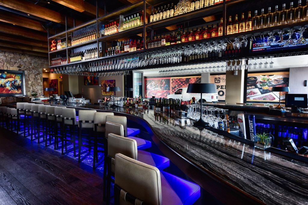 Restaurant Interior Construction
